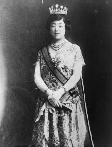 empress-nagako-of-japan-three-quarter-length-portrait-standing-painting-artwork-print