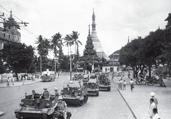 a history of the battle of rangoon in burma Burma campaign, 1942 – 45 2dwr at the battle of sittang bridge, february 1942 the japanese attack on pearl harbour on 7 th december, 1941, was the beginning of a number of japanese offensives throughout the pacific, intended to create a japanese controlled greater east asia co-prosperity sphere, with the pretext of 'liberating' the .